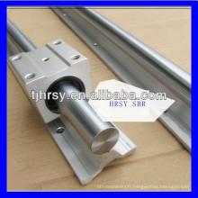 Rail de guidage linéaire en aluminium SBR30