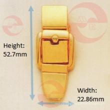 Zinc Alloy Metal Belt Buckle Shape Push Lock
