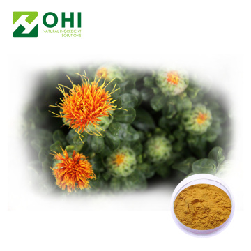 Saffloer extract carthamin geel