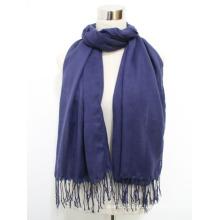 Lenço de seda de viscose sarja senhora moda com borlas (yky1046)