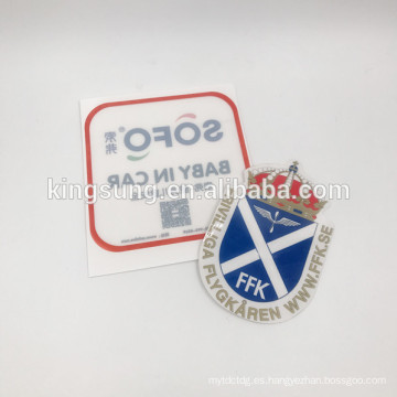 Pegatinas para el parachoques Logotipo personalizado y tamaño Pegatinas de vinilo del coche exterior resistente e impermeable a los rayos UV