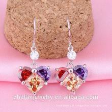 Venda de cristal de jóias de moda preço de 1 carrinho brinco de diamante compras online