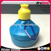 Chine bouteilles d'eau sport bpa bouteille d'eau libre avec mousqueton et cap