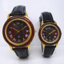 Hlw097 OEM Männer und Frauen aus Holz Uhr Bambus Uhr hohe Qualität Armbanduhr