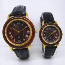 Hlw097 OEM Men′s and Women′s Wooden Watch Bamboo Watch High Quality Wrist Watch