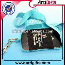 Wholesale cell phone neck strap with pouch