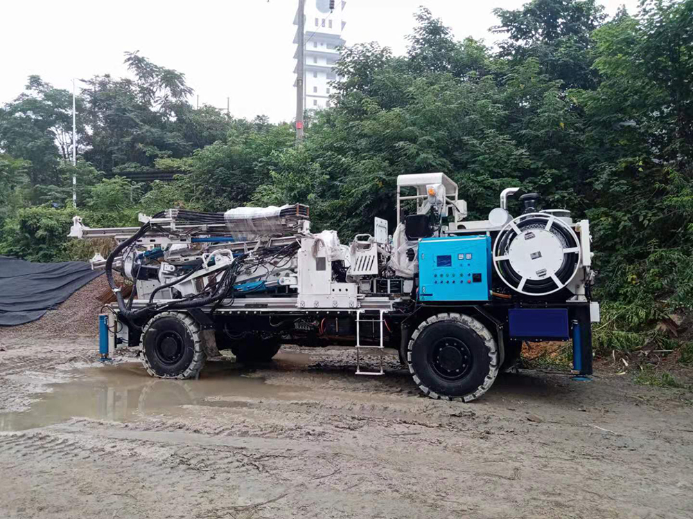 Drill Rig for Blasting