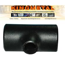"""JIS B2312 Pg370 16"""" Carbon Steel Welded Reducing Tee"""