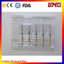 2016 Новый набор зубных алмазов Bur для высокоскоростного наконечника