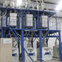 Máquina de molienda de harina de trigo a pequeña escala