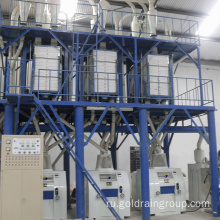 Small scale wheat flour mill machine
