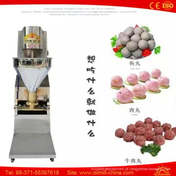 Almôndega do alimento que forma o fabricante Bola de carne do rolamento que faz a máquina