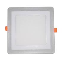 Luz Recessed de poupança de energia eficiente da ESPIGA do quadrado da cor do dobro / diodo emissor de luz