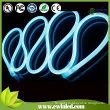 Soft PVC LED Neon Flex con color azul