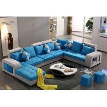 Colorful U Shape Fabric Sofa, Modern Sofa (S888)