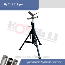 V Head Adjustable Pipe Stand