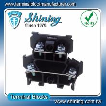 ТД-025 СРГ 10 двухэтажных 600В 25 Ампер PCB винт клеммной колодке