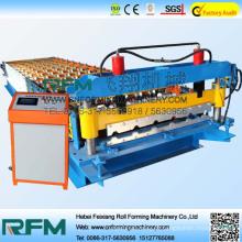 FX 840 Máquina de laminação de rolo de aço, Painel de telhado Máquina formadora de rolo, máquina de formação de metal