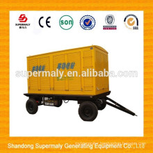 10kw-1600kw silent portable diesel generator