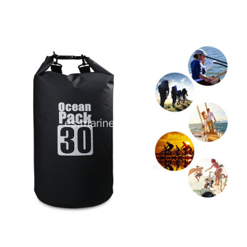 Bolso seco modificado para requisitos particulares al por mayor durable de la playa del PVC 30L de la prenda impermeable
