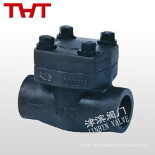 you pornd api lift weld connected forged Steel mechanical check valve