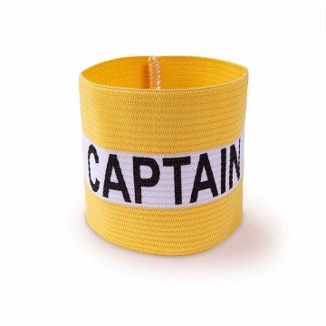 Brassard de capitaine de football élastique multicolore
