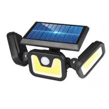 Aplique de pared dividido de energía solar