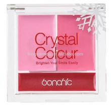 mode rouge rose naturel durable blush crème palette de rouge à lèvres mat