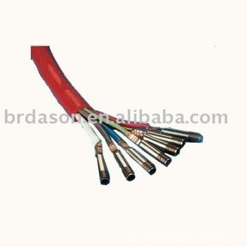 Ultrasonic welding machine for wire harness