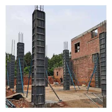 Construcción de formas prefabricadas de encofrado de hormigón fundido