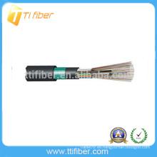 Cable de conducto para exteriores MM 4 Core 62.5um GYTY53 Cable de fibra óptica para exteriores