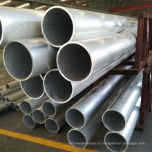 Tubo de alumínio retangular extrudado padrão 6060 T5