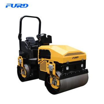 3 Ton Compactor Road Roller with Double Vibratory Steel Drum