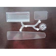 Folhas plásticas transparentes, fornecedor de peças plásticas