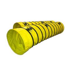 Flex duct pvc exhaust ventilation flexible ducting blower spiral hose