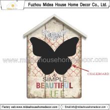 Baixo MOQ alta qualidade Indoor Display Chalkboard, madeira Message Board