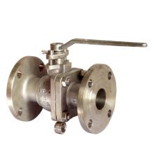 Vanne à bille en acier inoxydable à extrémité filetée (304 / 316L)