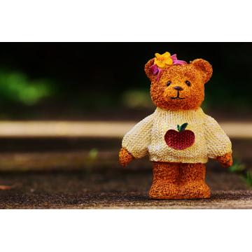 OEM Super Soft Strick Teddybär