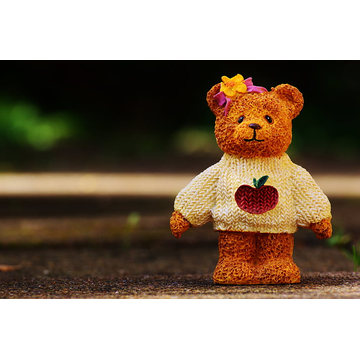 OEM Super Soft Knitted Teddy Bear