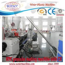 WPC linha de máquina de extrusora de parafuso duplo de granulação