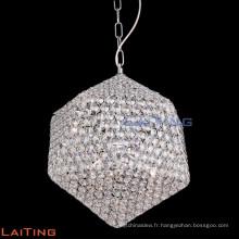 Luminaires suspendus uniques de suspension de chrome industriel de chandelier 71112