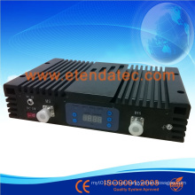 27dBm 80db CDMA / Dcs / WCDMA Triple Band Repetidor com Display Digital