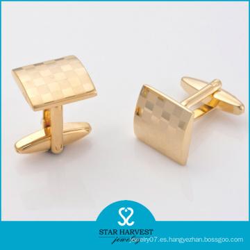 Gemelos de chapado en oro de moda (SH-BC0024)