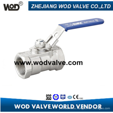 1-PC Stainless Steel Ball Valve with Locking