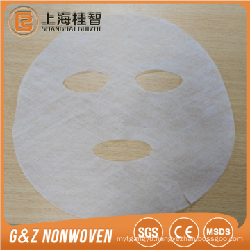 Collagen facial mask sheet dry spunlace fabric collagen mask