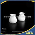 Eurohome al por mayor de hotel de diseño real jarra de leche de porcelana blanca
