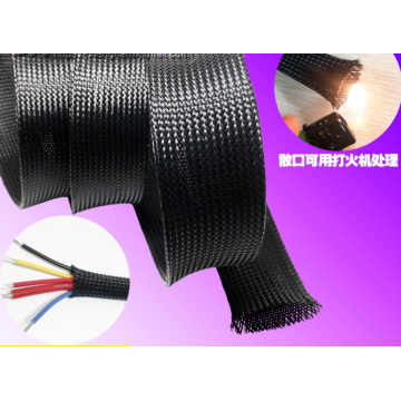 Speaker Cable Braided Sleeve For Wire Harness
