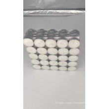 4 hours white tealight candles 50pcs per shrink bag packing