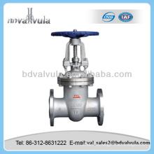 Aço inoxidável 316L válvula de porta válvula pn16 válvula de portão