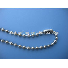 4.5 * 6мм металлическая шариковая цепь занавес-нержавеющая шариковая шариковая цепь с цепочкой штыревых соединительных роликов